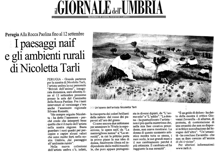 Il giornale dell Umbria_30_08_2011
